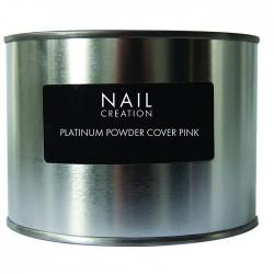 Platinum Powder Cover Pink - Камуфлирующая розовая акриловая пудра 350 gm